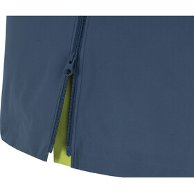 GORE WEAR R7 Partial Gore-Tex Infinium Chaqueta con capucha Mujer, deep water blue/citrus green